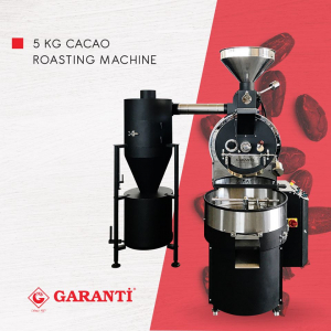 5 kg cacao roasting machine