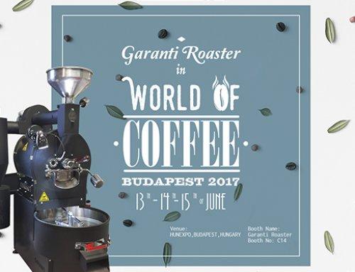 World of Coffee Budapest 2017